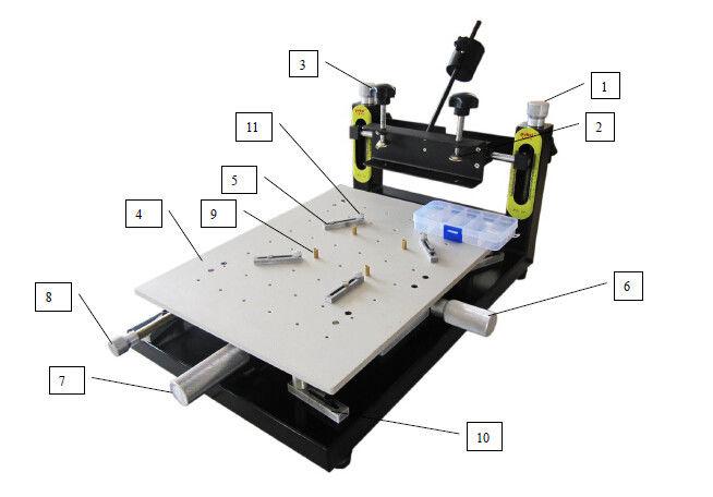 manual pick and place machine